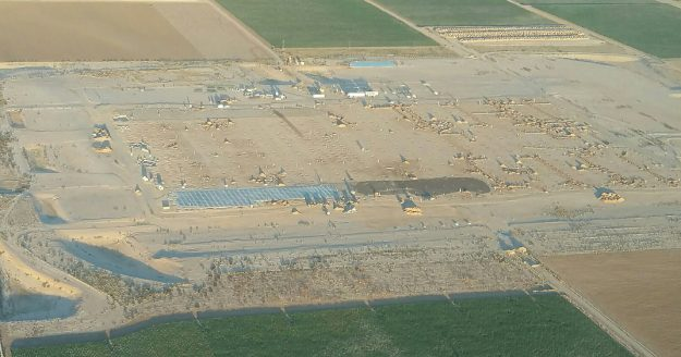 PhoenixMart construction aerial image